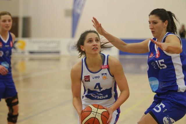 Kinga Woźniak zdobyła 14 punktów i była najskuteczniejszą zawodniczką Enei AZS