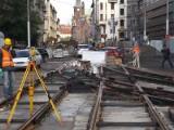 Wrocław: Torowisko na Krupniczej prawie gotowe. Koniec robót w grudniu (ZDJĘCIA)