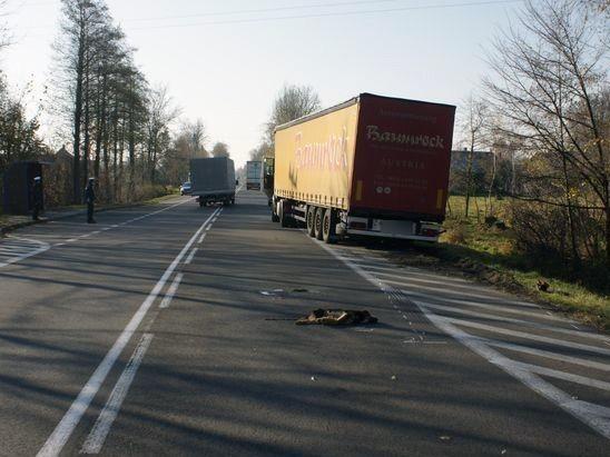 Przyczyny wypadku wyjaśniają policjanci z Bielska Podlaskiego