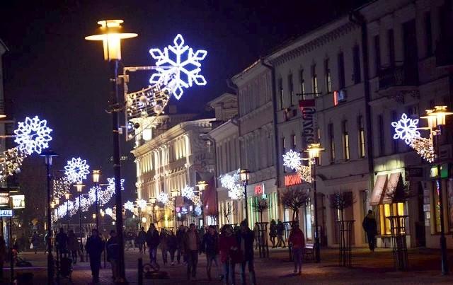 Deptak już gotowy do świąt. Za chwilę rozpoczną się wydarzenia w ramach Festiwalu Bożego Narodzenia