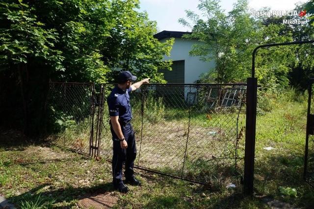 Dzielnicowy z Komisariatu Policji w Łaziskach Górnych ustalił tożsamość podpalaczy
