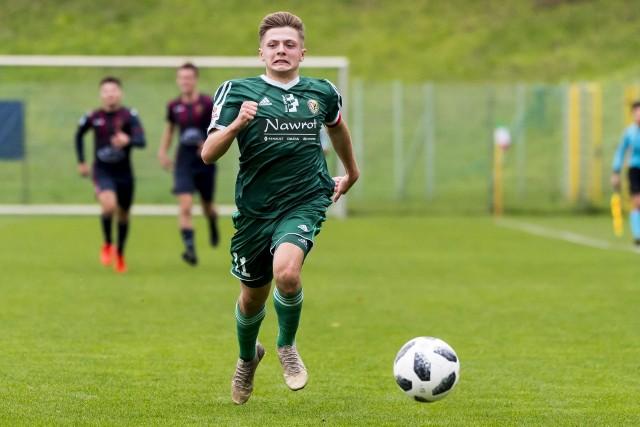 Hubert Konstanty otworzył wynik w meczu Śląsk II Wrocław - Lech II Poznań