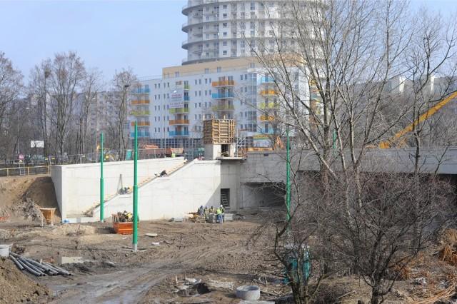 Do wypadku doszło w czasie budowy trasy tramwajowej na Franowo