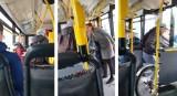 Awantura w autobusie. Mężczyzna z rowerem nie chciał opuścić autobusu i ustąpić miejsca kobiecie z wózkiem [wideo] 24.10.2019