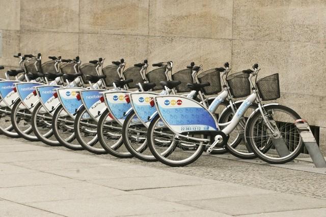 Miejski system wypożyczania rowerów działa m.in. we Wrocławiu