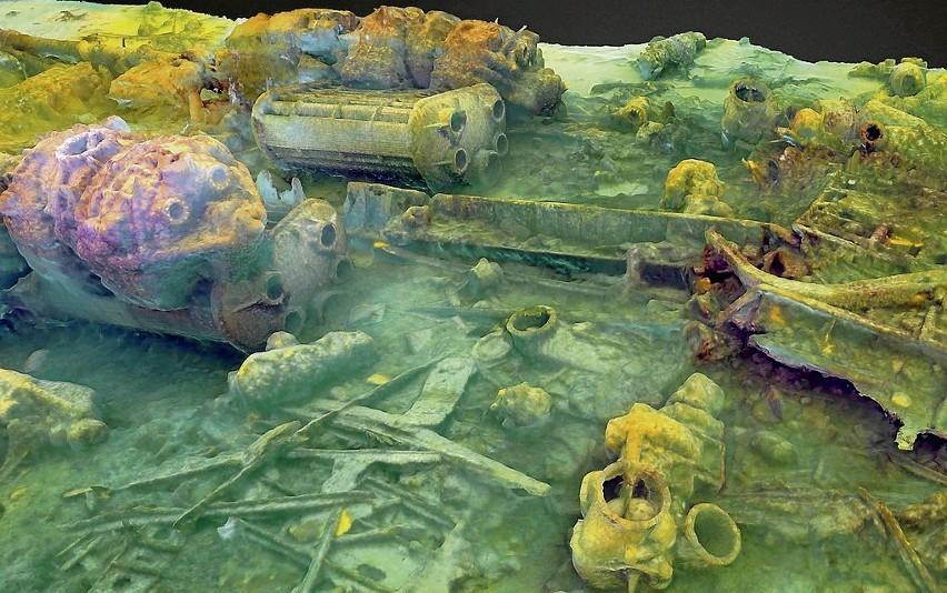 Zabytki z bałtyckich głębin, czyli lunety, armaty, dzbany na wino i wraki w trójwymiarze