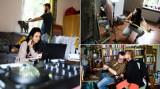 Kwarantanna w Krakowie. Zajrzeliśmy do domów krakowian, podglądnęliśmy ich podczas pracy zdalnej [FOTOREPORTAŻ]