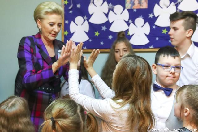 Agata Kornhauser-Duda, Pierwsza Dama, w Białymstoku