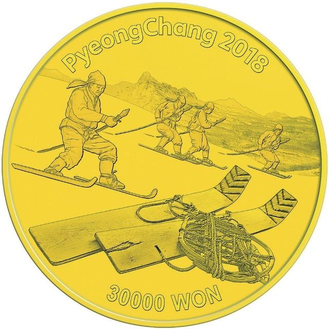Już za rok 9 lutego 2018 roku rozpoczną się XXIII Zimowe Igrzyska Olimpijskie w południowokoreańskim Pjongczang. Dla zniecierpliwionych kibiców gospodarz igrzysk przygotował serię szesnastu monet olimpijskich z czystego srebra. 365 dni przed igrzyskami olimpijskimi do sprzedaży w naszym kraju trafi jedynie 365 kompletnych kolekcji.