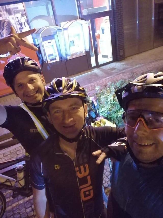 Trzech rowerzystów z Gubina rzuciło sobie trudne wyzwanie