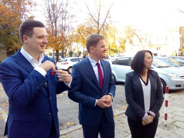 Tomasz Tokarski, Konrad Sawicki i Magdalena Filipek-Sobczak