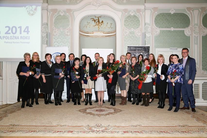 Nasi ubiegłoroczni laureaci podczas uroczystej Gali w Pałacu...