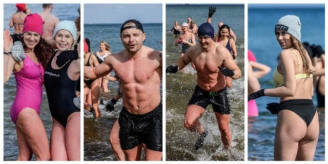 Morsy z grupy trenera personalnego Adriana Hoffmana na plaży w Gdańsku Brzeźnie
