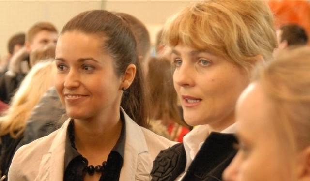 Magdalena Wójcik (z lewej) i Anna Koronka