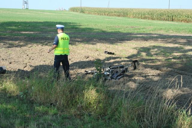 Śledczy ustalają szczegóły śmiertelnego wypadku.