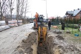 Ruszyła budowa kanalizacji sanitarnej w ul. Polnej w Brzezinach