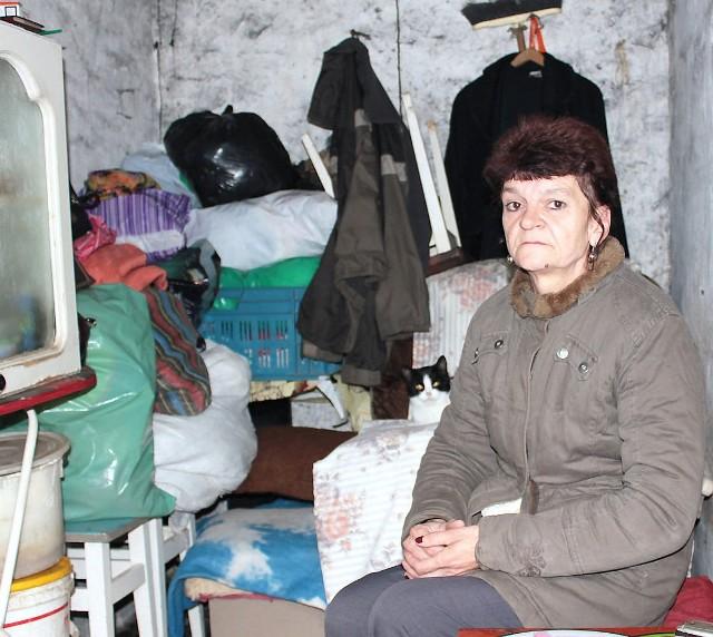 Nie mogę tutaj długo zostać, ale nie mam wyjścia - Wiem, że nie mogę tutaj długo zostać, ale nie mam wyjścia - mówi Ewa Kaszubska