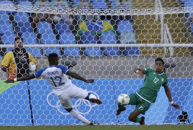 Quito wpisał się na listę strzelców w pierwszym meczu przeciwko Algierii