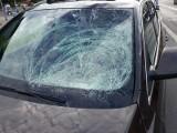 Wypadek przy Legnickiej. Desperat rzucał się pod auta? (ZDJĘCIA)