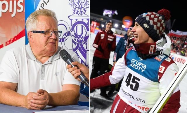 Wojciech Fortuna czeka na kolejne sukcesy Kamila Stocha