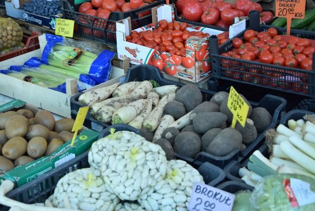 Ceny owoców i warzyw z Agrohurtu w Rzeszowie.