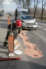 Uwaga! Utrudnienia na drodze krajowej 55 na trasie Grudziądz-Stolno