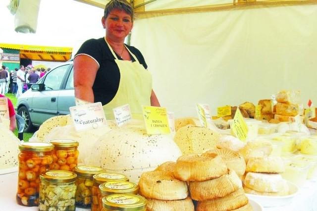Ser koryciński swojski z unijnym certyfikatemAgnieszka Gremza z Szumowa koło Korycina jest największą producentką serów