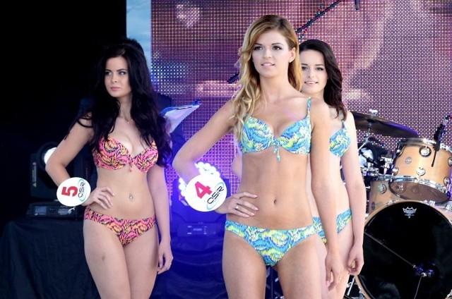 Miss Miedwia 2014: Pokaz w strojach kąpielowych
