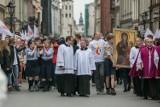 Kraków. Procesja Bożego Ciała przeszła ulicami miasta [ZDJĘCIA, WIDEO]