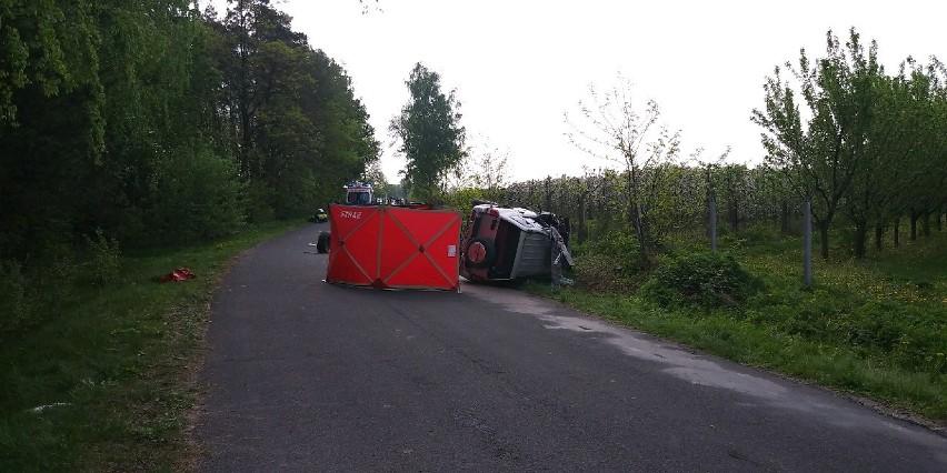 Śmiertelny wypadek w Jakubowie w powiecie skierniewickim