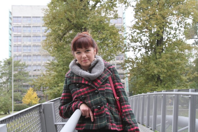 Gabriela Piasta kończy studia na architekturze PŁ