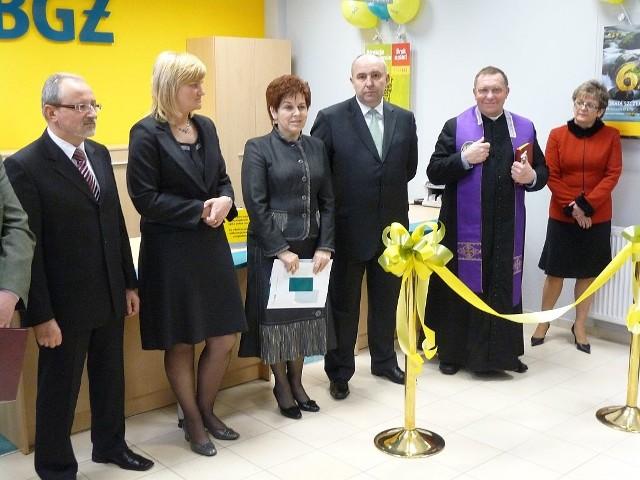 W Końskich otwarto nowy oddział Banku BGŻ.