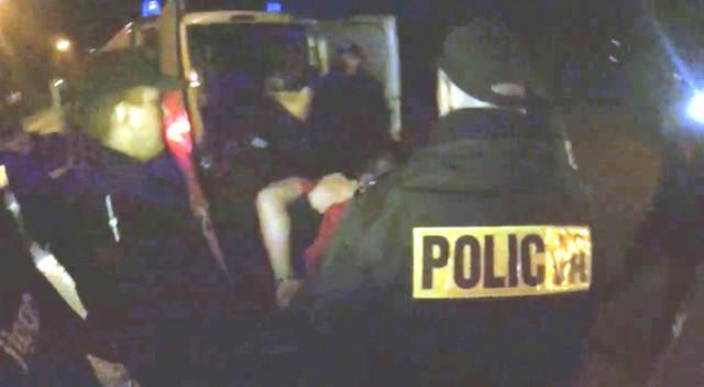 Brutalne zatrzymanie 15-letniego kibica w Wolsztynie