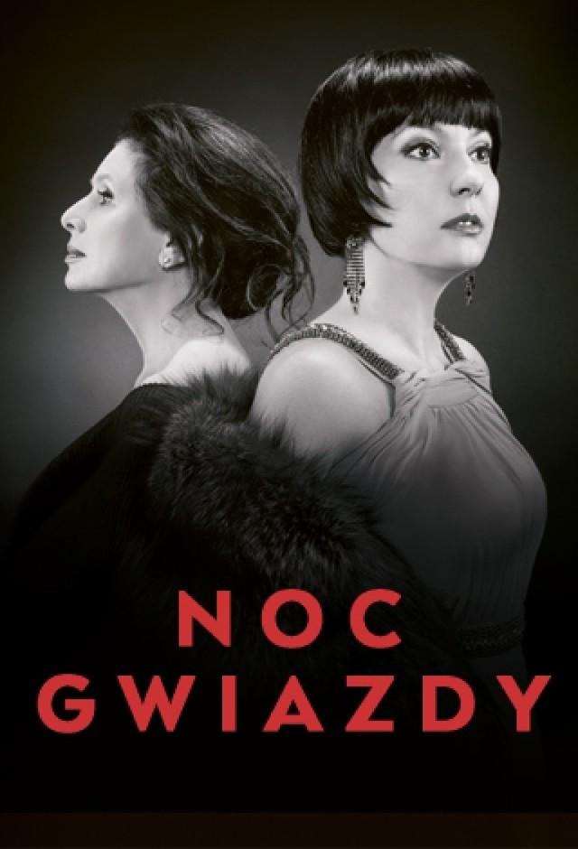 Justyna Sieńczyłło (na zdjęciu z prawej) i Marzena Trybała w Białymstoku zaprezentują klimatyczny spektakl o Poli Negri