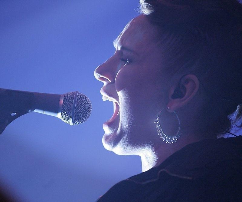 Katarzyna Nosowska podczas ubiegłorocznego koncertu w Koszalinie.