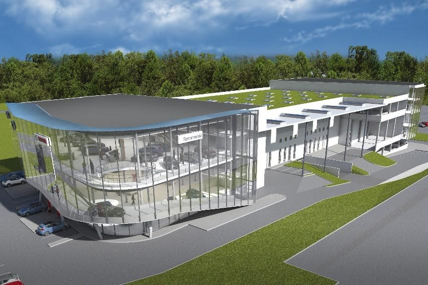 Radomska firma Romanowski buduje największe w Europie salony...