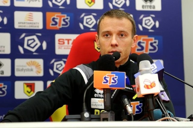 Trener Jagiellonii Rafał Grzyb podkreśla, że zwycięstwo z Cracovią nie przyszło łatwo
