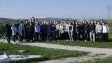 Uczniowie z I Liceum Ogólnokształcącego w Starachowicach na szlaku archeo-geologicznym [ZDJĘCIA]