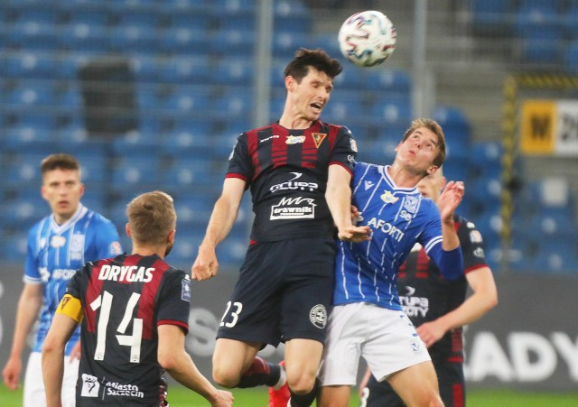 We wtorek Pogoń doznała klęski w spotkaniu z Lechem Poznań 0:4.