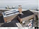Jak może wyglądać stoczniowe muzeum w Szczecinie? Ciekawy pomysł. Zobacz WIZUALIZACJE