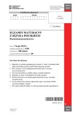 Matura 2015 Język polski, poziom rozszerzony. Eco, Bułhakow i Kaczmarski LICEUM TECHNIKUM ARKUSZE