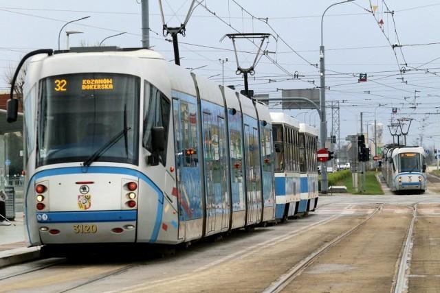 Tramwaje MPK Wrocław.