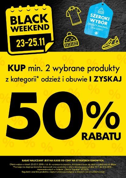 c5671f61218e38 Black Friday 2018: Czarny Weekend w Biedronce już za kilka dni [lista  sklepów Black Friday, promocje, obniżki, wyprzedaże]