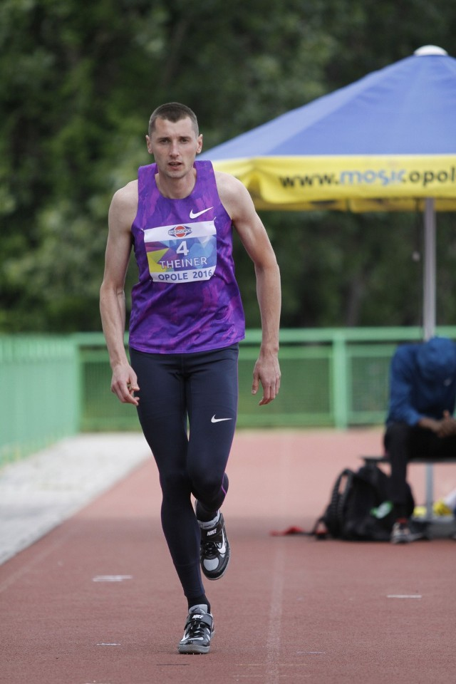 Wojciech Theiner zajął 2. miejsce w skoku wzwyż.