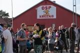 Rajd Koziołka 2019. Prawie 150 uczestników pokonało trasę, by  na koniec spróbować lokalnych przysmaków - zupy niebecz czy kołocza