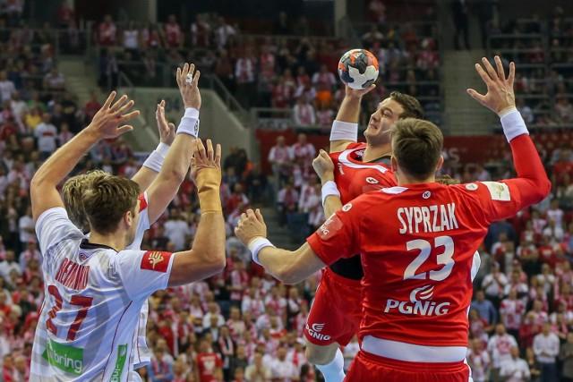 Mecz Polska-Norwegia podczas ME w piłce ręcznej