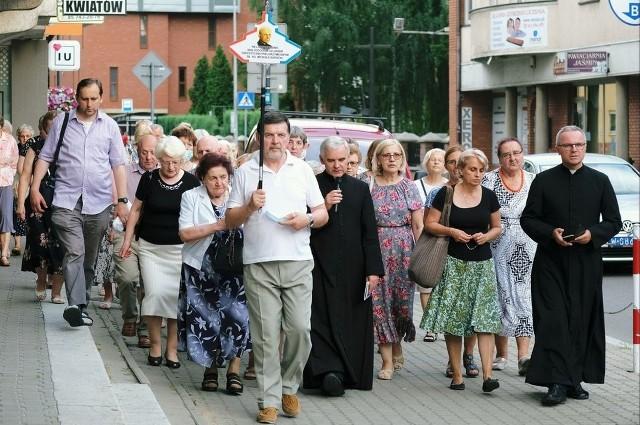 Czciciele Miłosierdzia Bożego rozpoczęli czwarty etap pielgrzymowania Szlakiem ks. Sopoćki