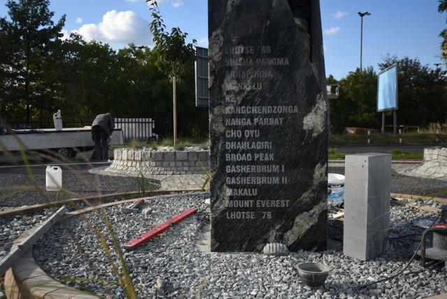 Pomnik Jerzego Kukuczki w Katowicach