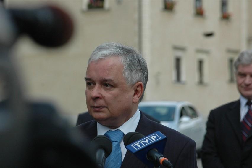 12.05 2008 krakow prezydent rp lech kaczynski  odwiedzil...