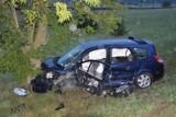 """Wypadek w Leśnicach. Na krajowej """"6"""" zderzyły się trzy samochody. 26.08.2020 r. Kobieta trafiła do szpitala"""